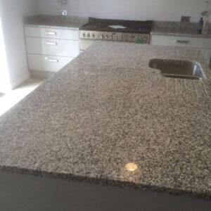 granite bianco sardo installment